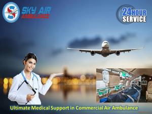 Utilize finest emergency air ambulance in silchar