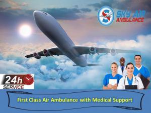 Utilize supreme icu based air ambulance in dimapur at low-fa