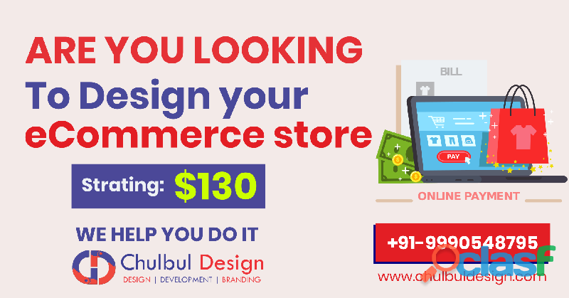 CLASF Ecommerce website development service