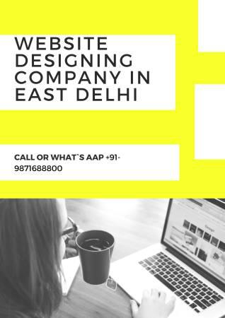 Website designing company in east delhi - computer services
