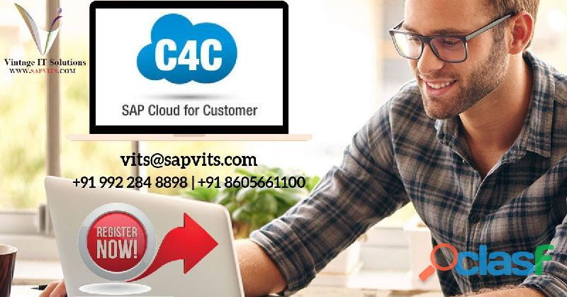 SAP C4C Technical Training | SAP C4C Technical course in London