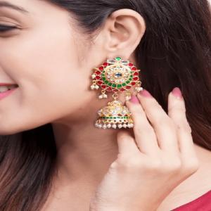 Buy indian jhumka earrings online