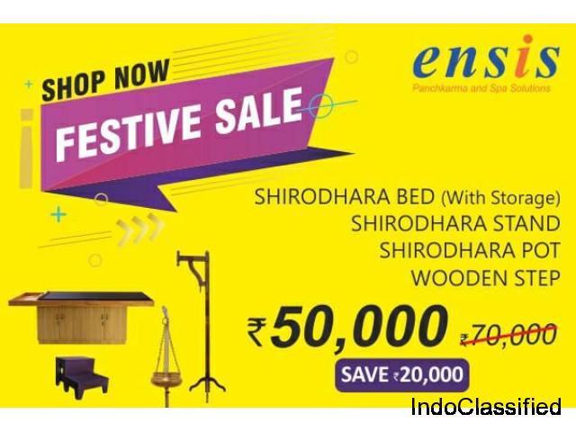 Buy panchkarma furniture in india | branded panchkarma