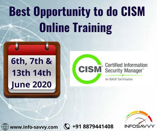 Certified information security manager [cism] - lessons &