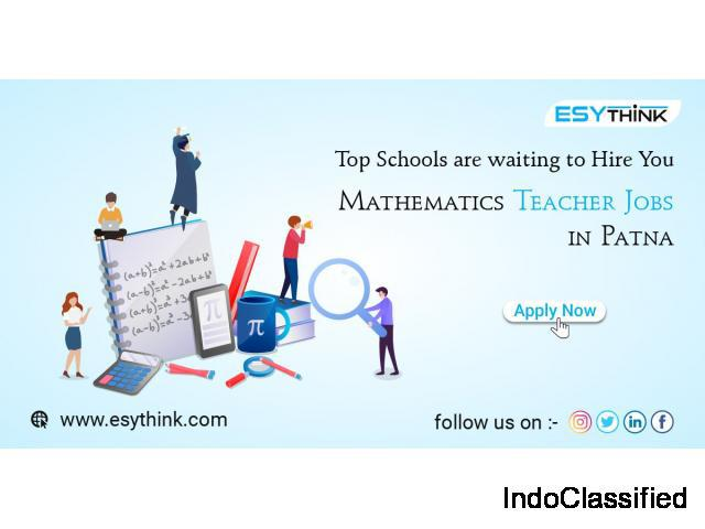 Chance to get openings for mathematics teacher jobs in the