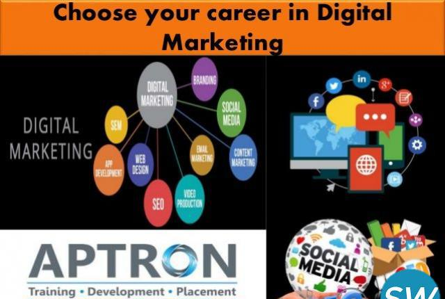 Digital marketing training course in gurgaon - aptron