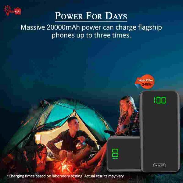 Portable power bank   buy power bank at very reasonable