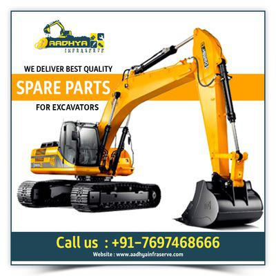 Best excavator spare parts suppliers in indore,