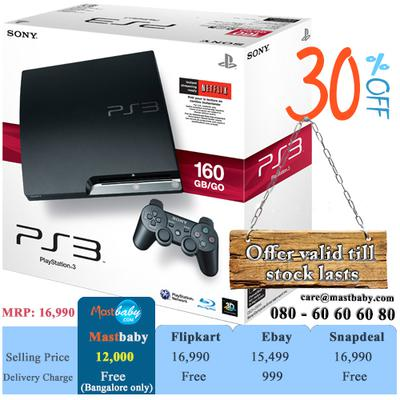 Buy online playstation3 160gb, 30% off! free delivery in