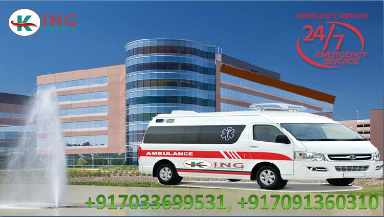 King road ambulance in muzaffarpur cost effective