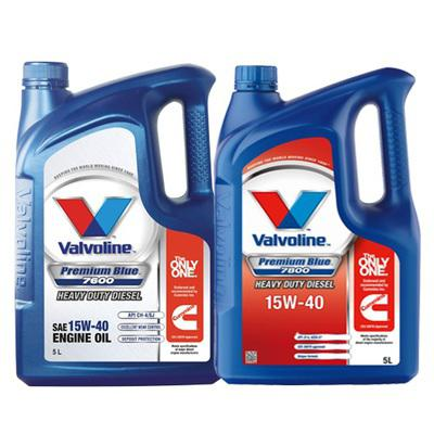 Valvoline premium blue: heavy duty diesel engine oil