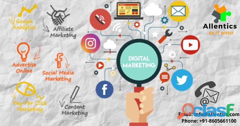 Digital Marketing Services in Pune | Online Marketing Company | Allentics IT Solutions