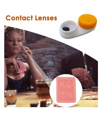 Spy invisible playing cards contact lenses in delhi