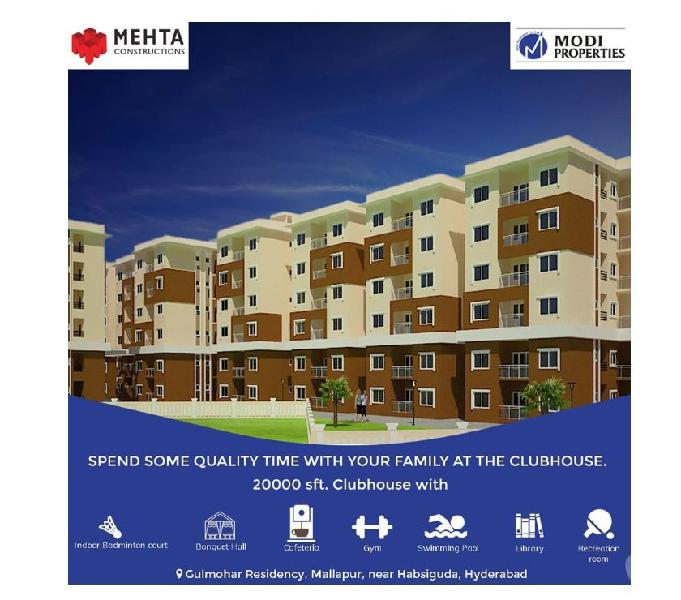 Flats for sale in hyderabad - modiproperties