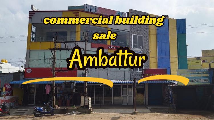 Commercial building sale nr ambattur