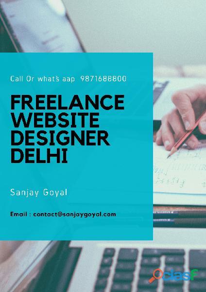 freelance website developer in Delhi