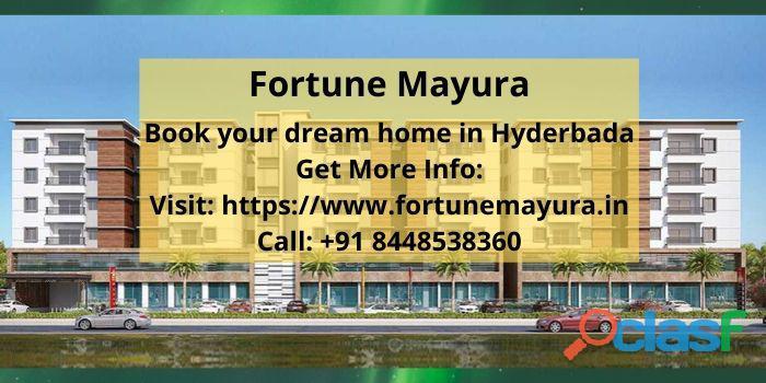 Lavish apartments for sale in Fortune Mayura Bachupally