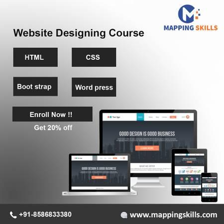 Online web designing training - computer services