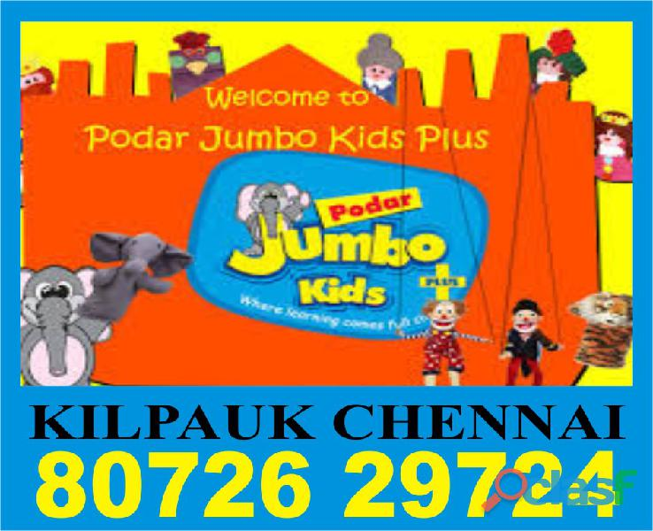 Podar jumbo kids plus | 8072629724 | 1164 | admission open