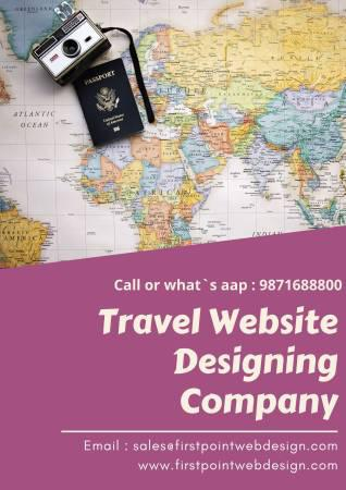 Travel website designing company - computer services