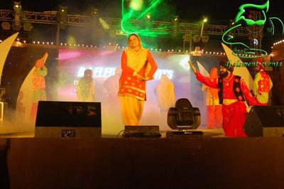 Stage shows, dj parties musical concerts, revolving &