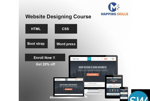 Online web designing training