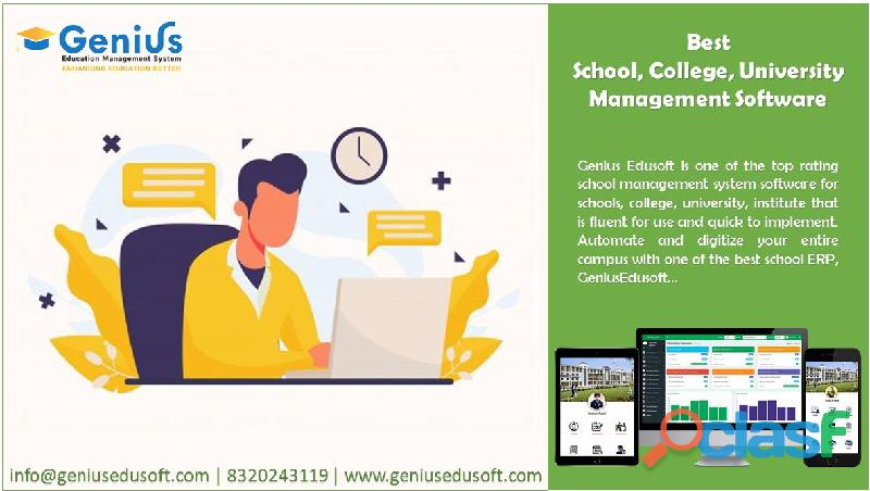 School erp | school management system software
