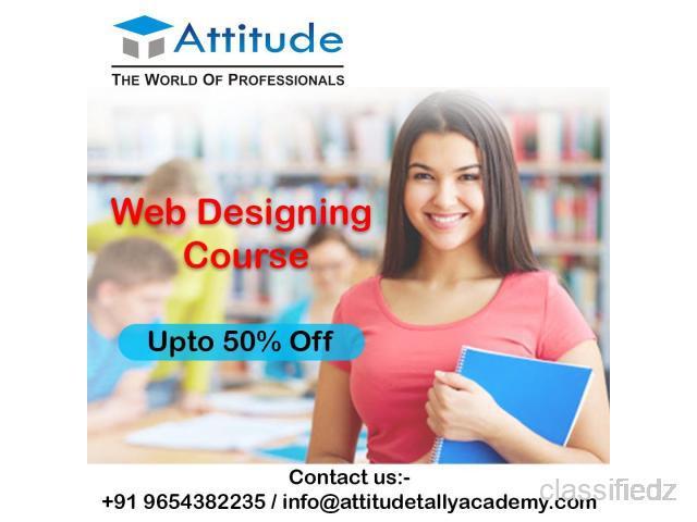 Offering the best web designing course in uttam nagar new