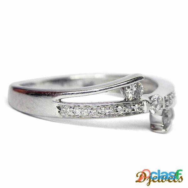 Stud Diamond Ladies Ring
