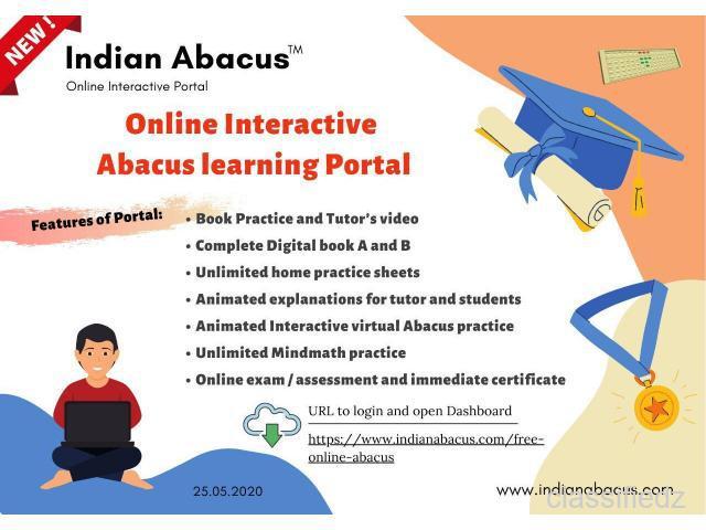 Indian abacus online coaching chennai