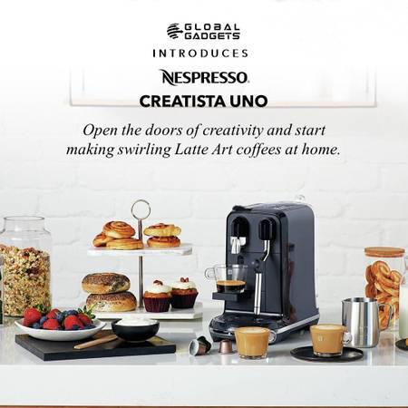 Buy nespresso creatista uno at global gadgets - electronics