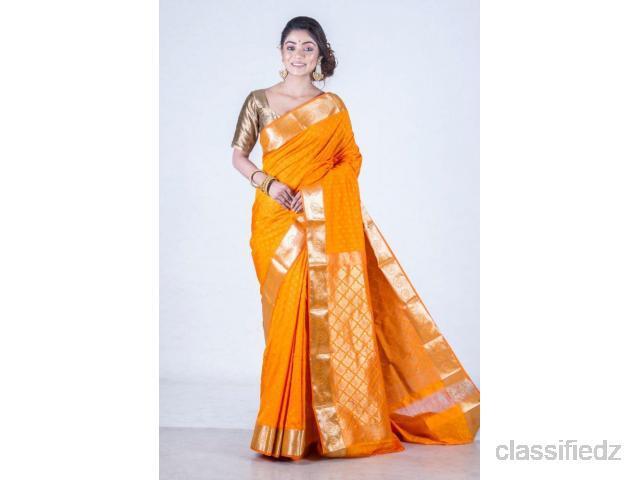 Best offer on south silk sarees online from banarasi niketan