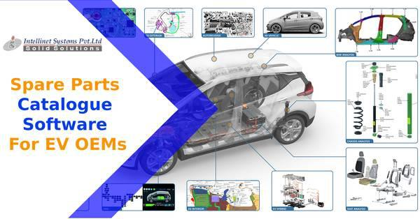 Spare parts catalogue software for ev oems - computer