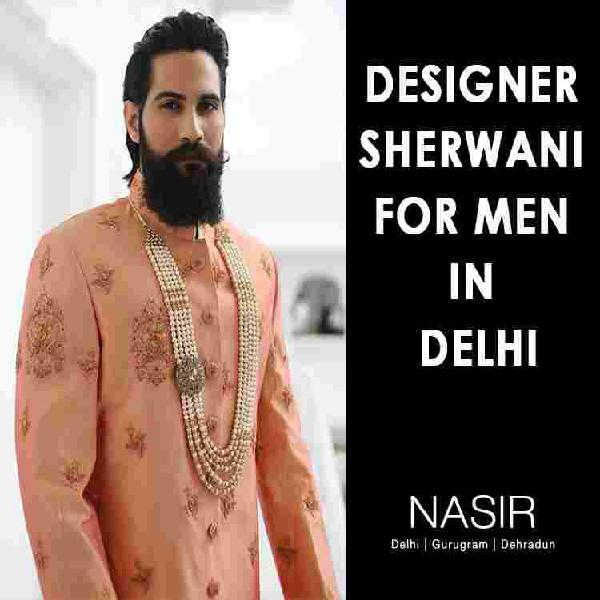 Nasir clothing store in delhi specially for grooms