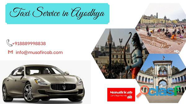 Taxi service in ayodhya, cab service in ayodhya