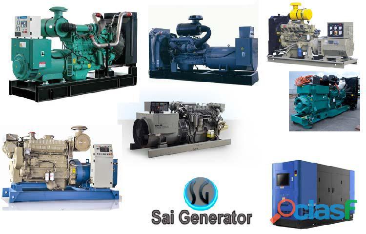 Used generators sale Cummins   Kirloskar, Ashok leyland