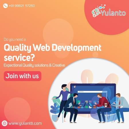 Fast & quality web development services company india-$199