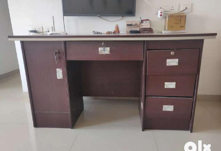 Office table and chair for immediate sale