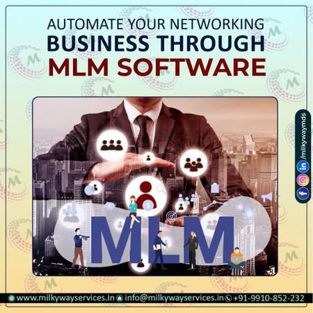 Mlm software company in noida - computer services