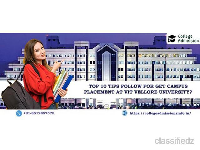 What are the top 10 tips to get campus placement at vit