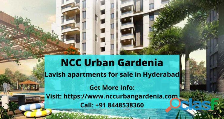 Book home in NCC Urban Gardenia Hyderabad