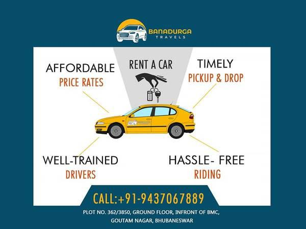 Book a car/ cab/ taxi rental/ hire services in bhubaneswar,
