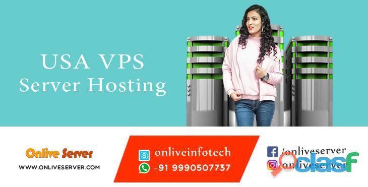 VPS Server Hosting in USA by Onlive server