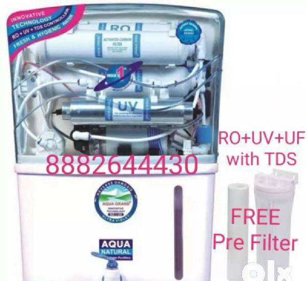 Aquafresh 12 litre ro with uv+uf+tds+minerals with free