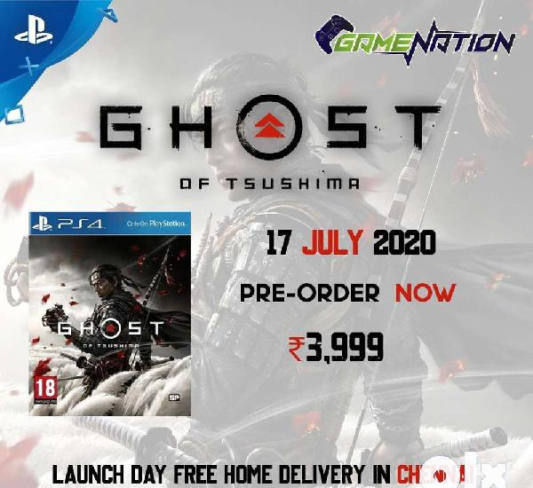 Pre order ghost of tsushima ps4