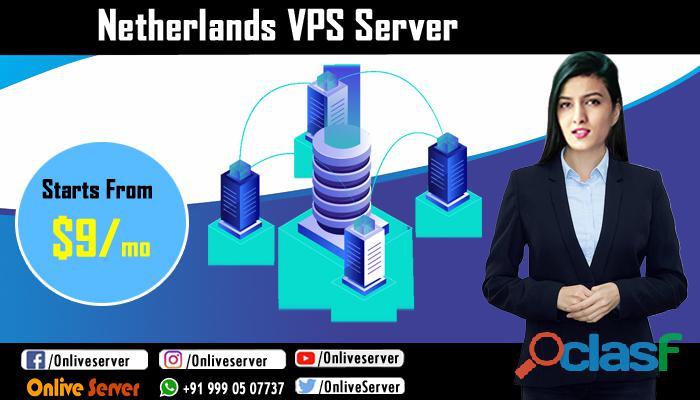 Netherlands VPS Server Hosting – Onlive Server