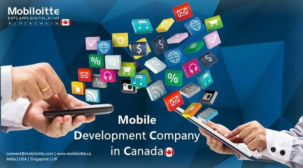 Mobile development companies in canada - cell phone / mobile