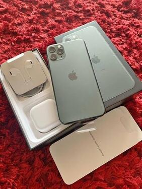 Iphone 11 pro max for sale together with a free apple watch