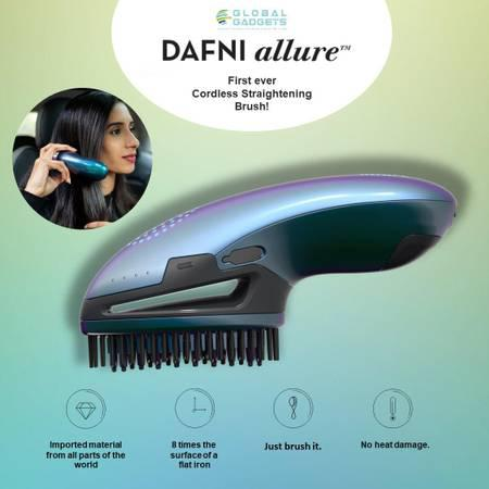 Buy dafni allure- cordless hair straightener at global