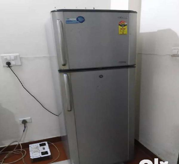 Samsung 365 ltr double door refrigerator rare used good